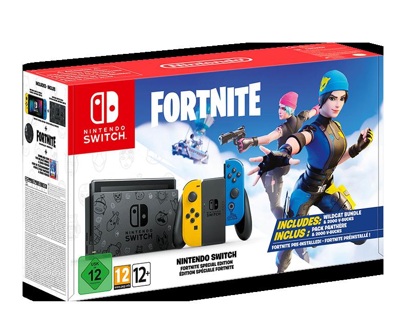 Nintendo Switch Fortnite Bundle