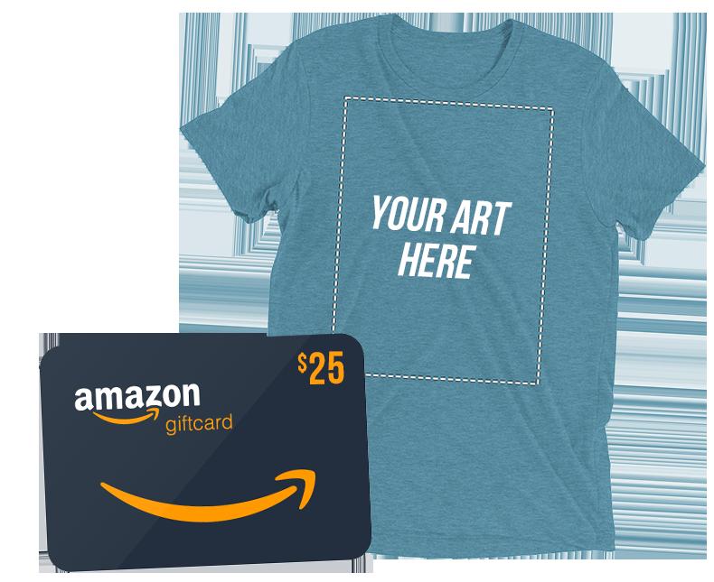 Pixilart Shirt + Amazon $25 Gift Card