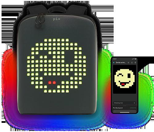 Pix backpack w/ Phone
