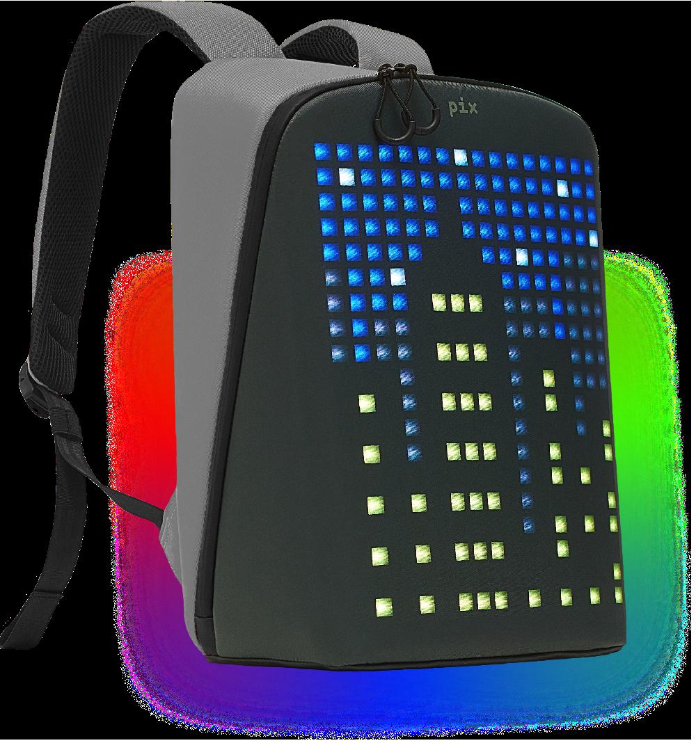 pix backpack grey