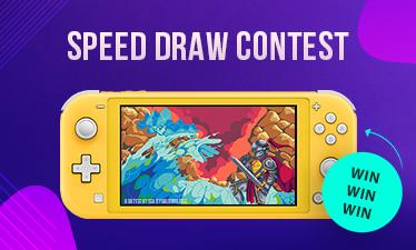 Pixilart Speed Draw Contest Switch Lite